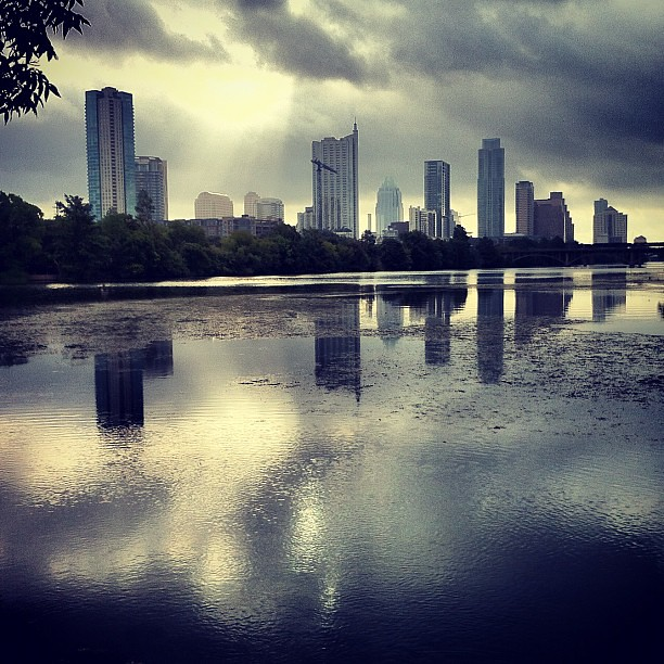 Austin in the morning