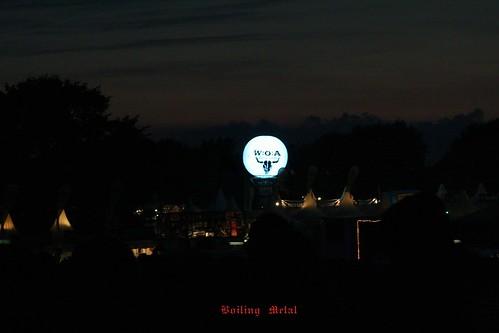 Fotos nocturnas del Wacken 2012
