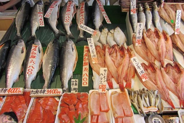 Hakodate Morning Market Food