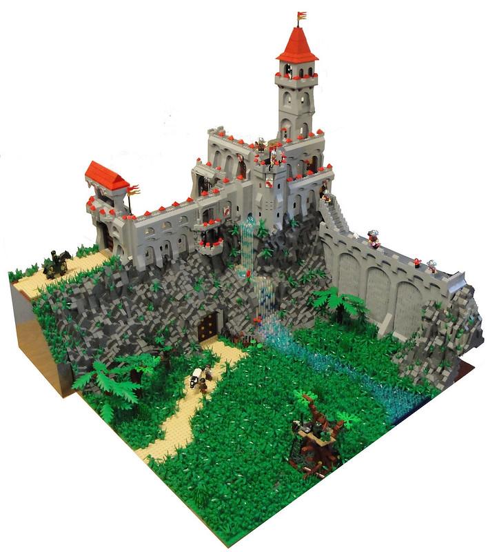 Castle with underground base - 1
