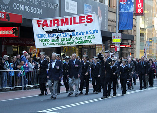 Fairmiles on 2012 Anzac Day March