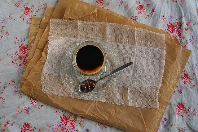 Panna cotta au café