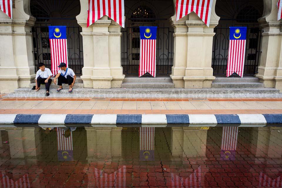Malaysia Independence (Merdeka) Day Decoration @ Dataran Merdeka, KL, Malaysia