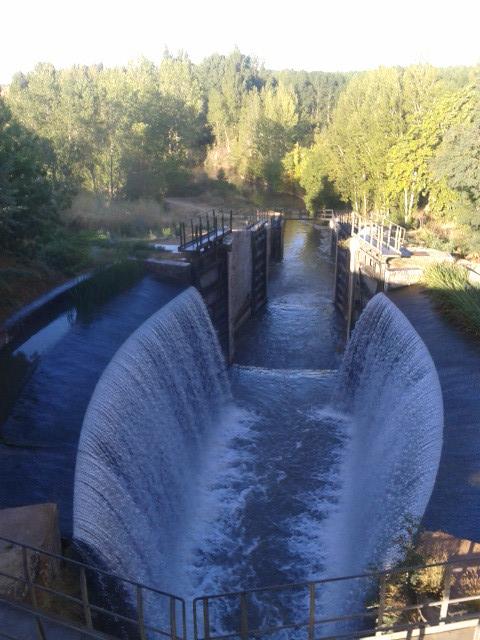 Calahorra de Ribas. Ruta del Canal de Castilla 2012