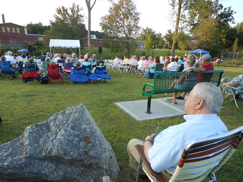 "Sen. Moore attends ""Concert in the Park"""