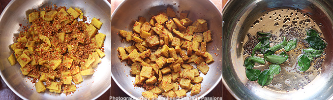 How to make yam fry recipe - Step1