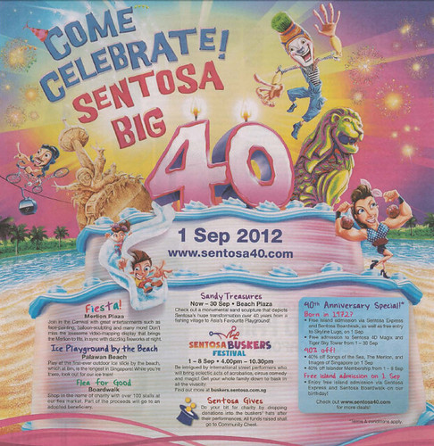 Sentosa's Publicity
