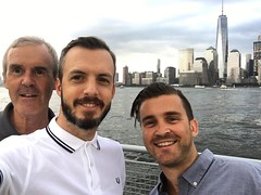 An Englishman, an Irishman and an American are standing on a pier... Hanging with the New Jersey Norris clan