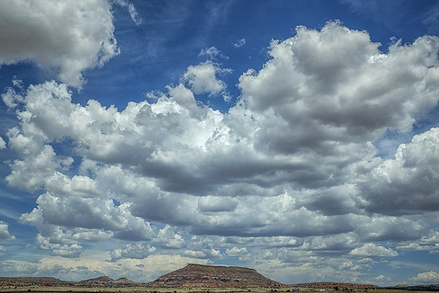 Mesa and Clouds