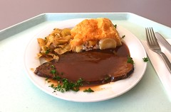 Allgau roast beef with potato strudel & bavari…