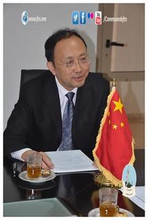 زيارة وفد من مدينة تشنغدو الصينية لجماعة فاس