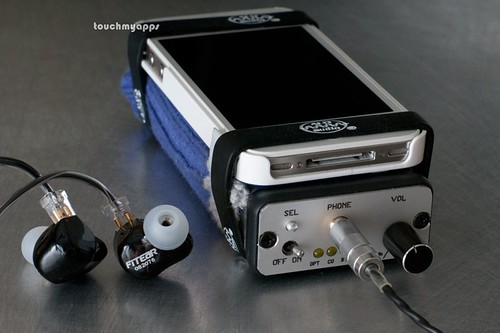 MyST 1866 DAC/headphone amp, FitEar To Go! 334 audio stack