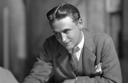 F  Scott Fitzgerald sent a  F Scott Fitzgerald Young