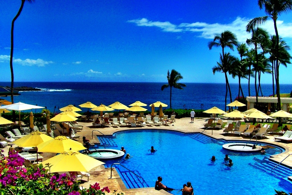 Pool at the Four Seasons Manele, Lanai