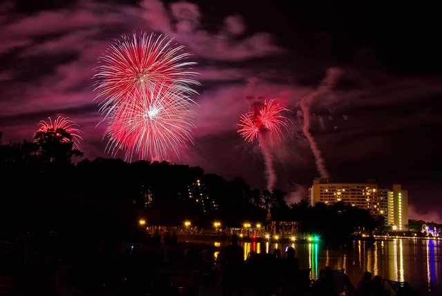 Disney's Celebrate America and the Wilderness Lodge 7/4/12