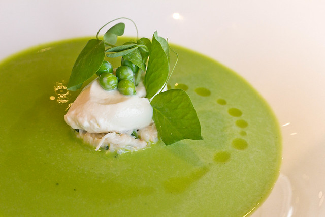 Chilled Summer Sweet Pea Soup | Flickr - Photo Sharing!