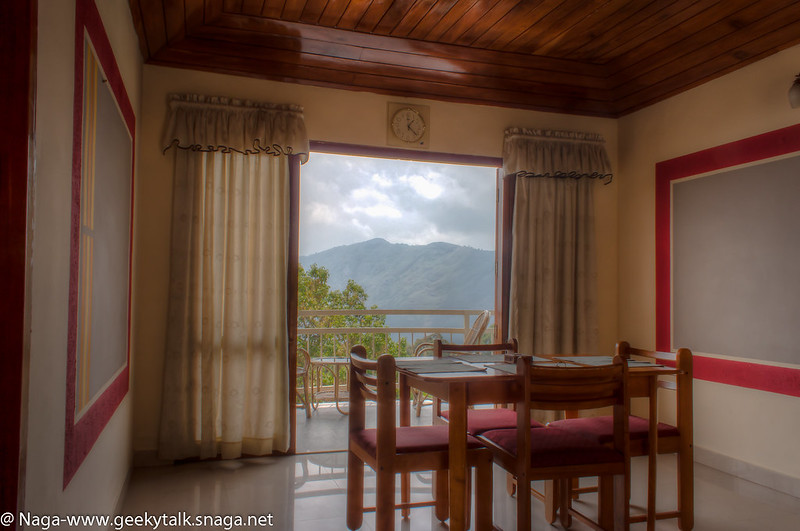 Deshadan Resort, Munnar - Inside the room (HDR)