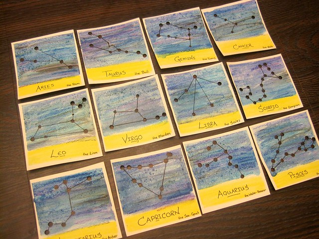 Constellation Cards