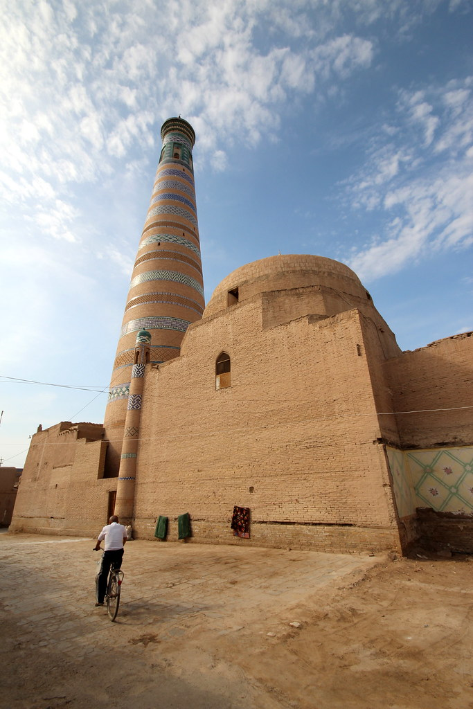 Man and a Minaret
