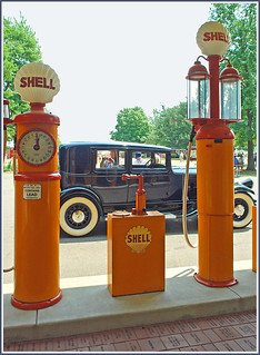 Shell service at the Gilmore Museum