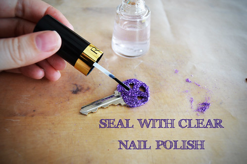 Seal with Clear Nail Polish