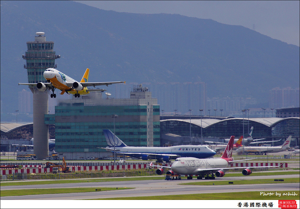Cebu Pacific Air / RP-C3191 / Hong Kong International Airport