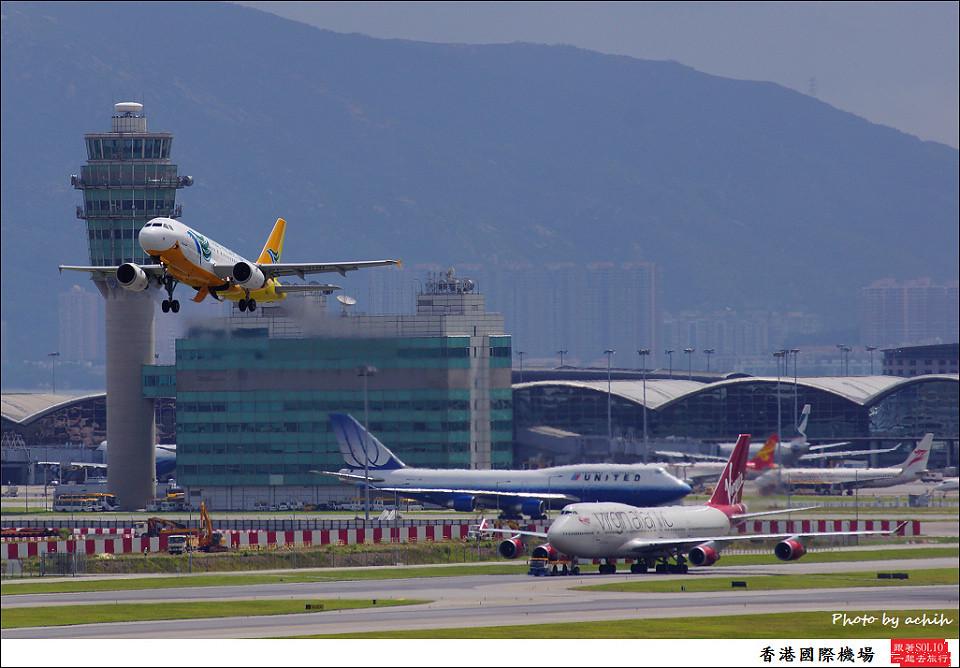 Cebu Pacific Air / RP-C3191 / Hong Kong International Airport