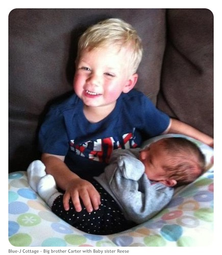 Carter and Baby Reese