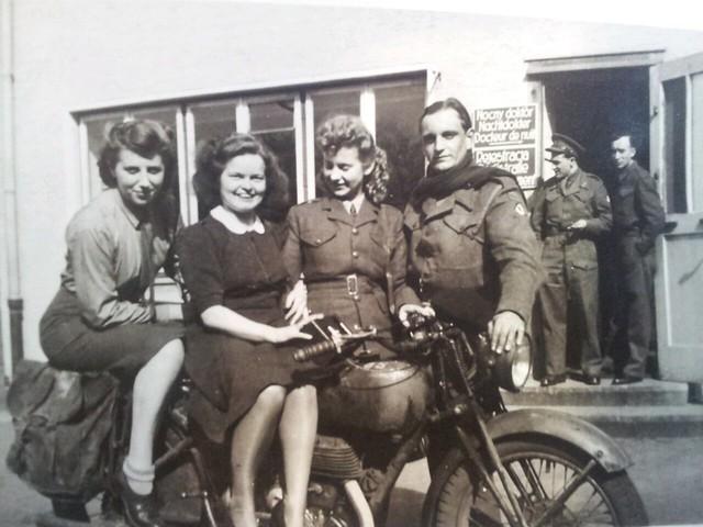 Hannie, 1946,  Diepholz Germany, UNRRA Displaced Persons Camp, DPAC (Transit Camp No.36 British Zone)