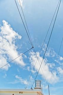 Summer sky #2 on fri the13th@Okinawa,Japan_沖縄の空@13日の金曜日02