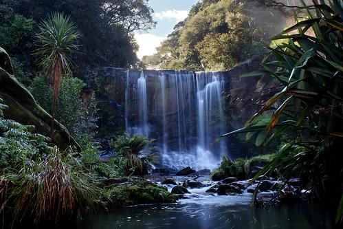 longexposure newzealand water canon waterfall rainforest stream auckland flowingwater waitakereranges 550d t2i mokoroafalls canoneos550d