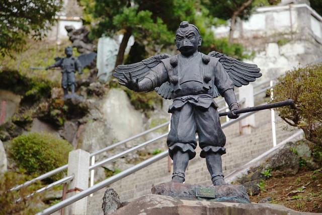The Karasu-tengu from the Hansōbō (Kenchō-ji), Kamakura ...
