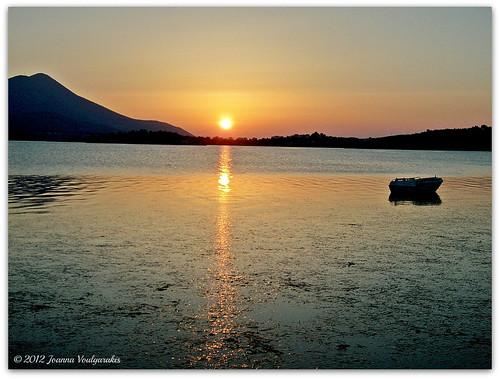Sunset at Nea Lampsakos