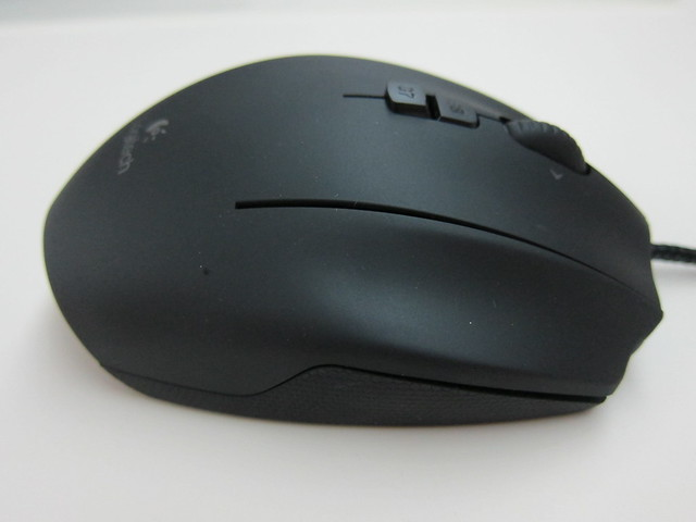 Logitech G600 MMO Gaming Mouse - Right Side View