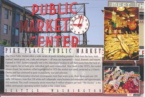 Pike Place Market Seattle Washington