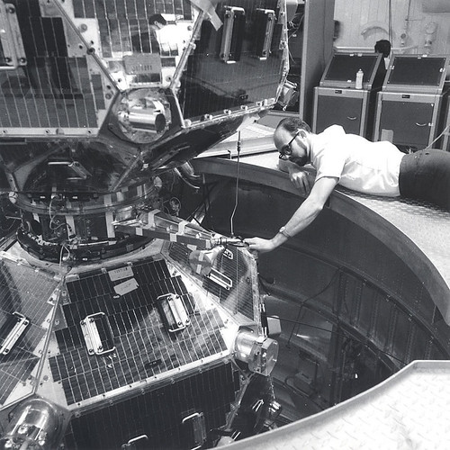 1970 Belian Richard with Vela satellite