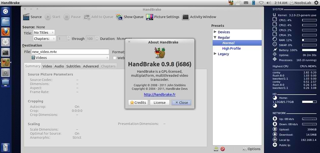 handbrake video converter download free