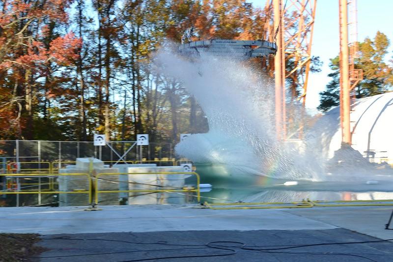 Orion Drop Test - Splash