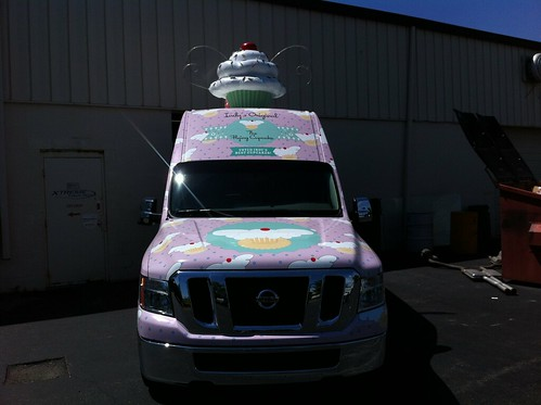 Flying Cupcake Van