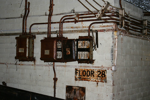 This way to floor 28 in the bunker