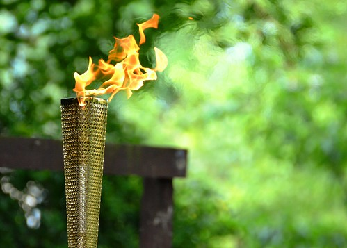 Welcome to the Olympic Torch by pallab seth