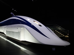 automotive exterior(0.0), luxury yacht(0.0), automotive design(0.0), bullet train(1.0), high-speed rail(1.0), vehicle(1.0), transport(1.0), maglev(1.0),