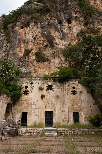 Façana de l'església de Sant Pere