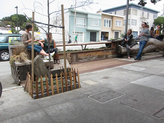 4033 Judah Street Parklet  (hosted by Trouble Coffee)