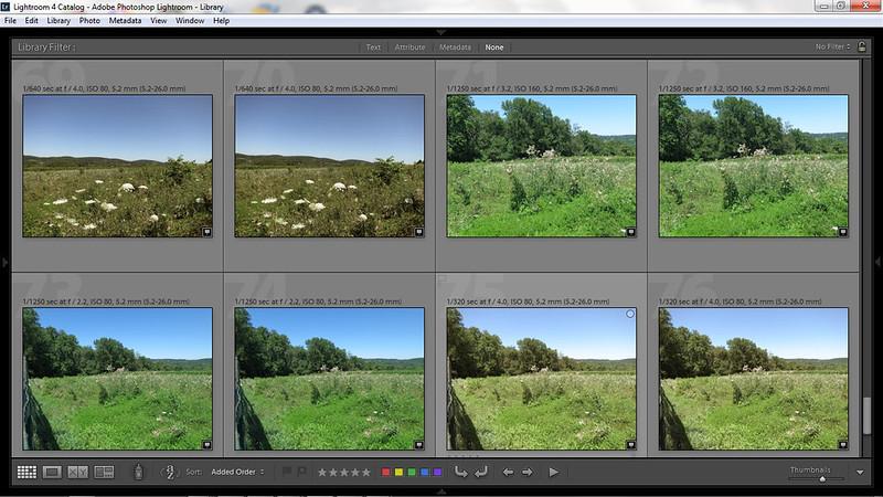 Lightroom 4 Screen shot - KAP SDM testing over Chester Springs