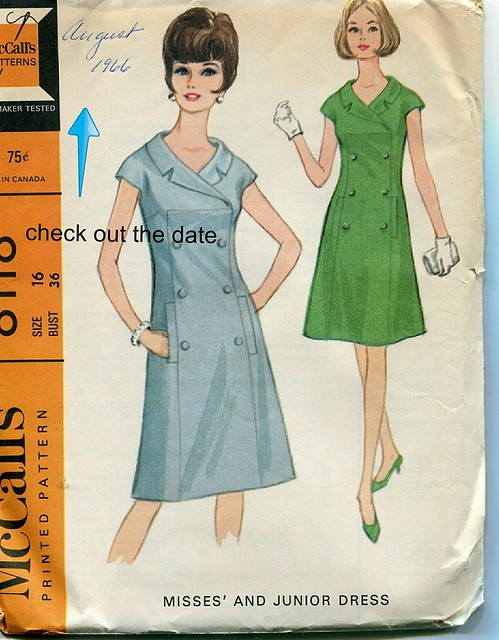 Vintage McCalls Pattern (1966)