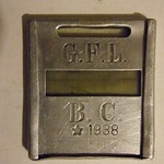 BRITISH COLUMBIA 1938 ---G.F.L. FIREARMS LICENSE.
