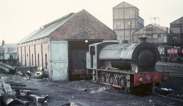 Burradon Colliery in 1966