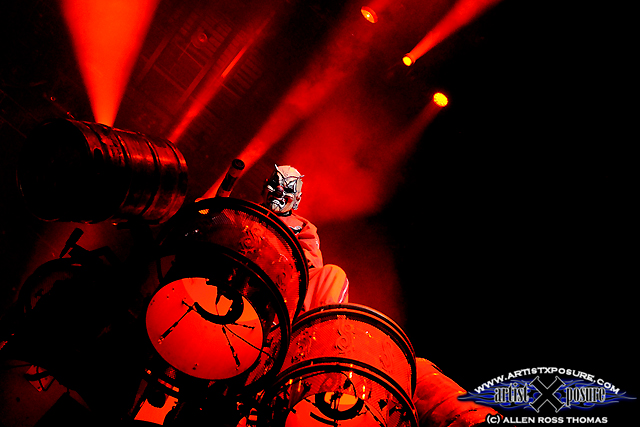 Don't forget the drummer: Shawn Crahan / Clown / Number 6
