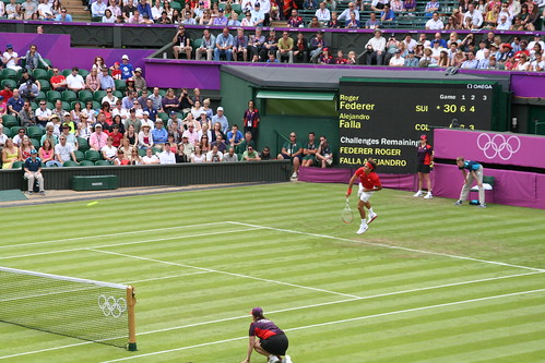London 2012: Wimbledon Tennis